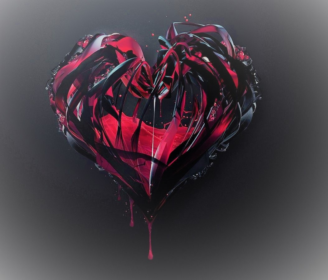 broken heart lightened